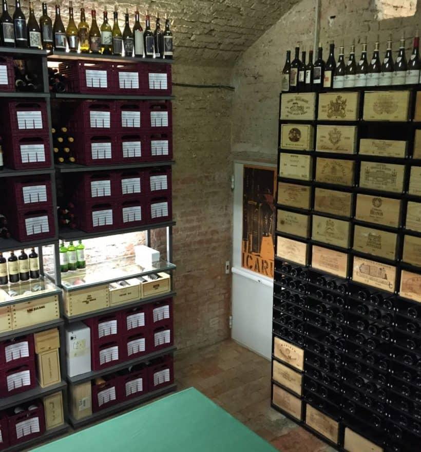 Weinkeller von May Wines