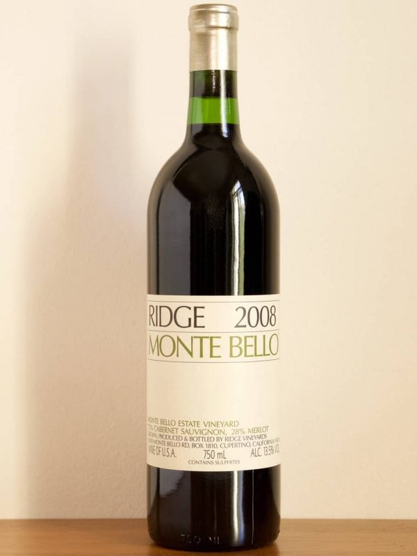 2008 Ridge - Monte Bello