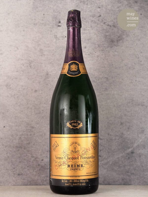 1982 Carte Or - Vueve Clicquot